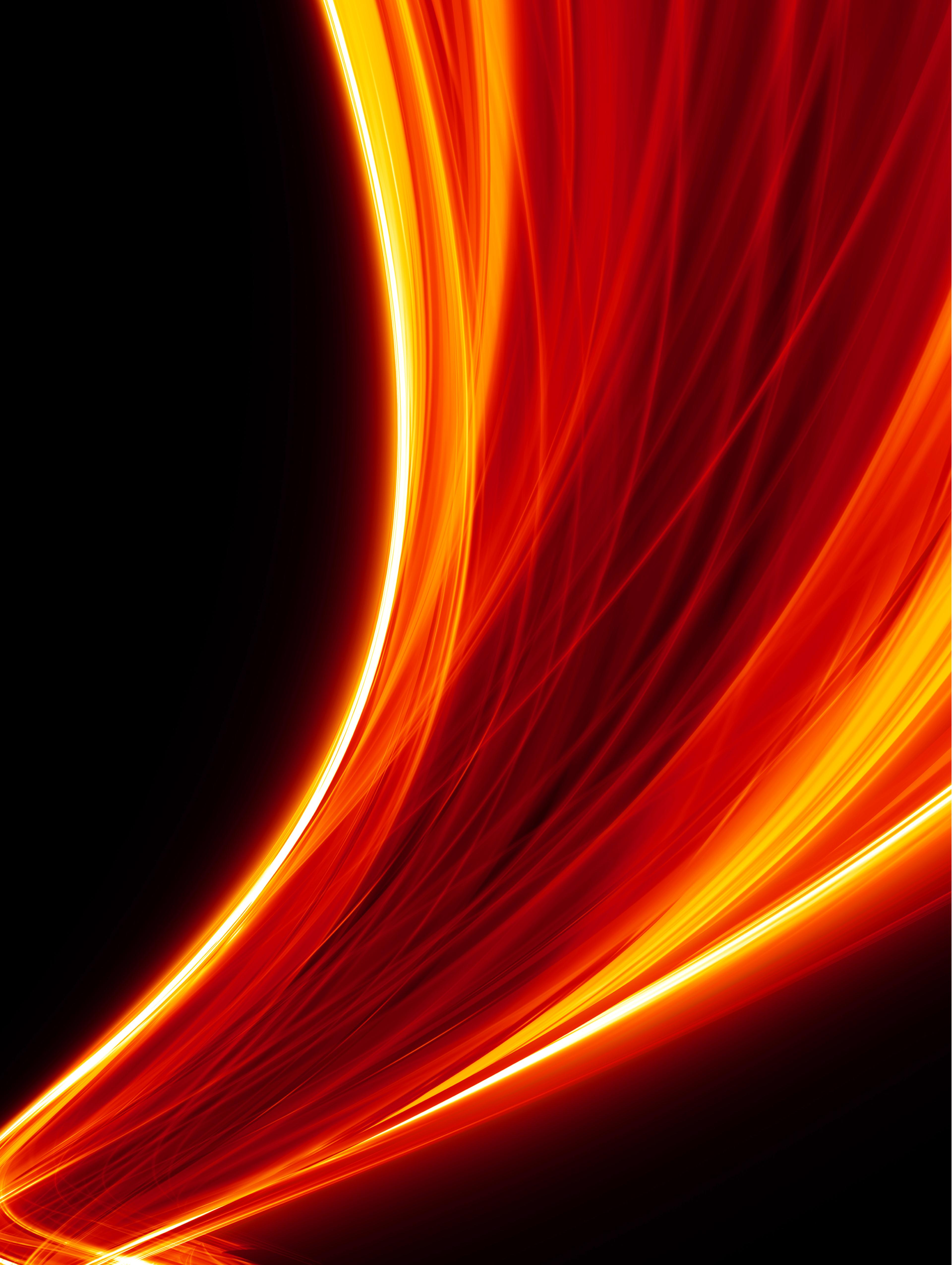 Picture of red light flares