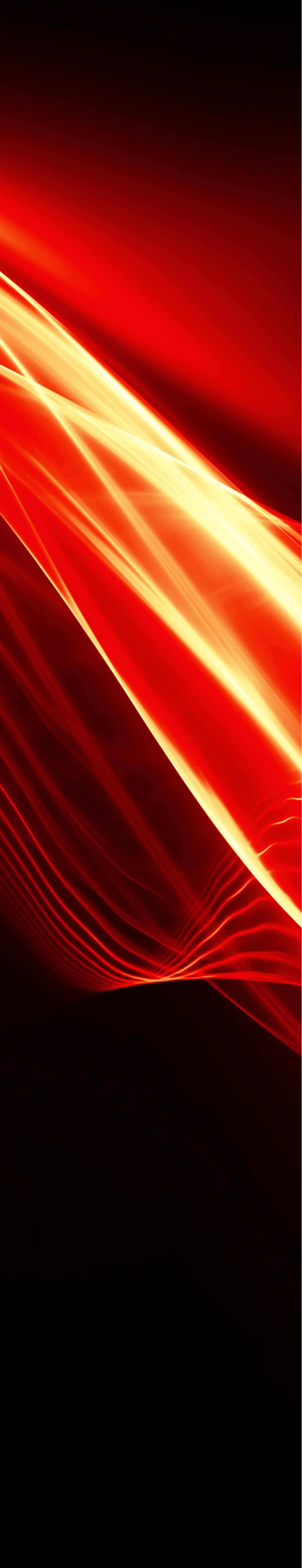 Black background with white, red , orange light flares