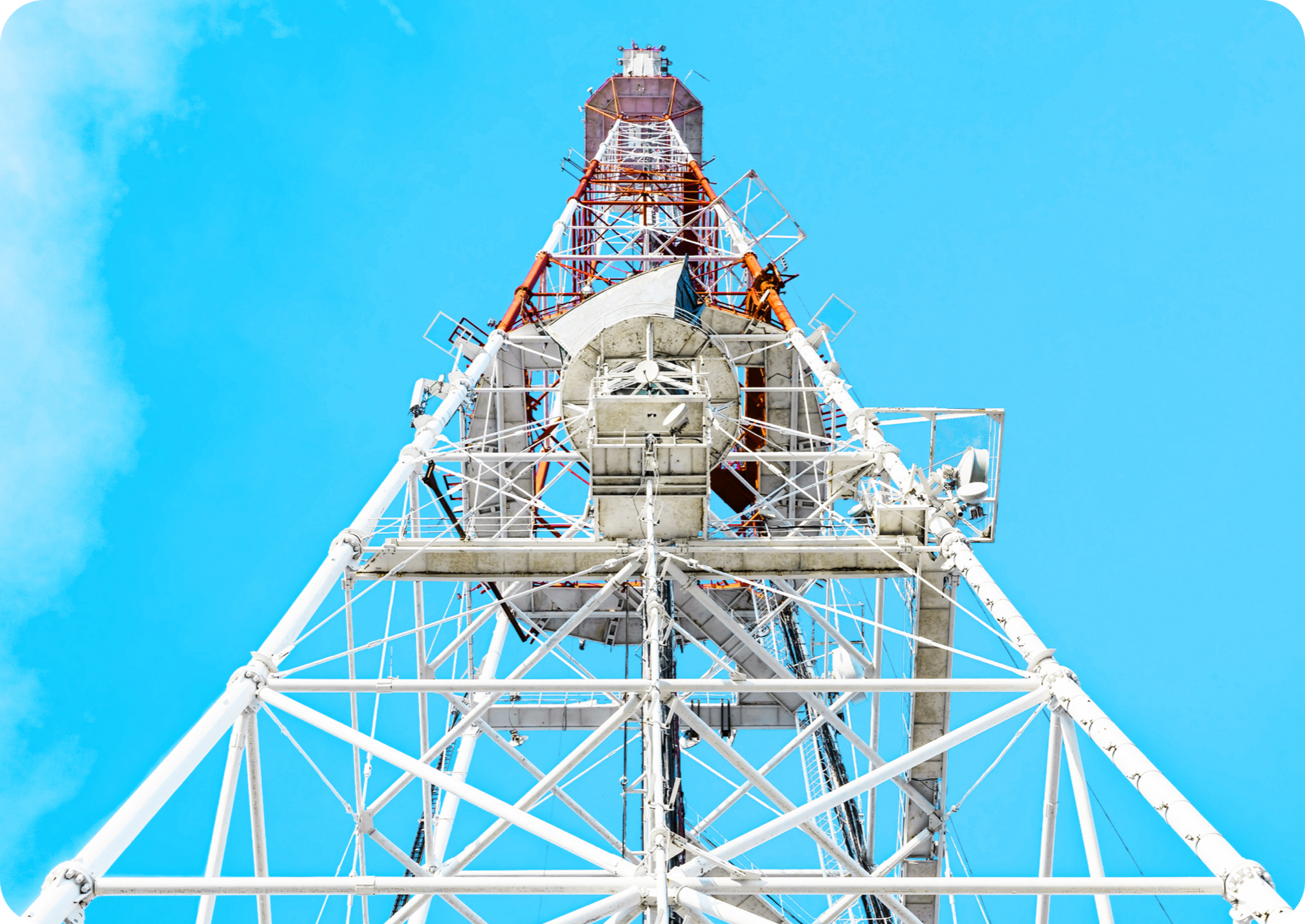 Picture of electricity power tower