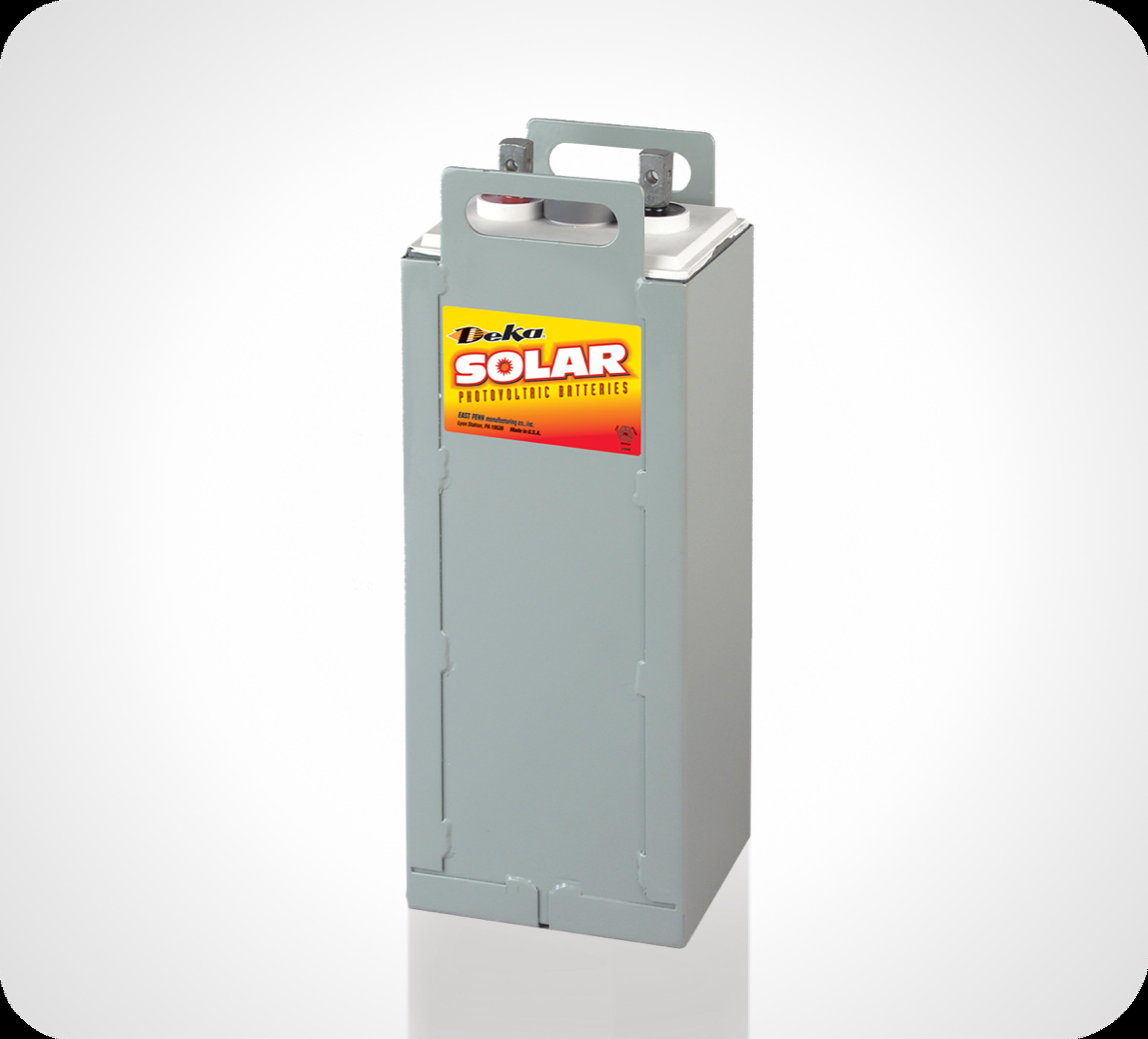 Photo d'une batterie AGM à énergie solaire