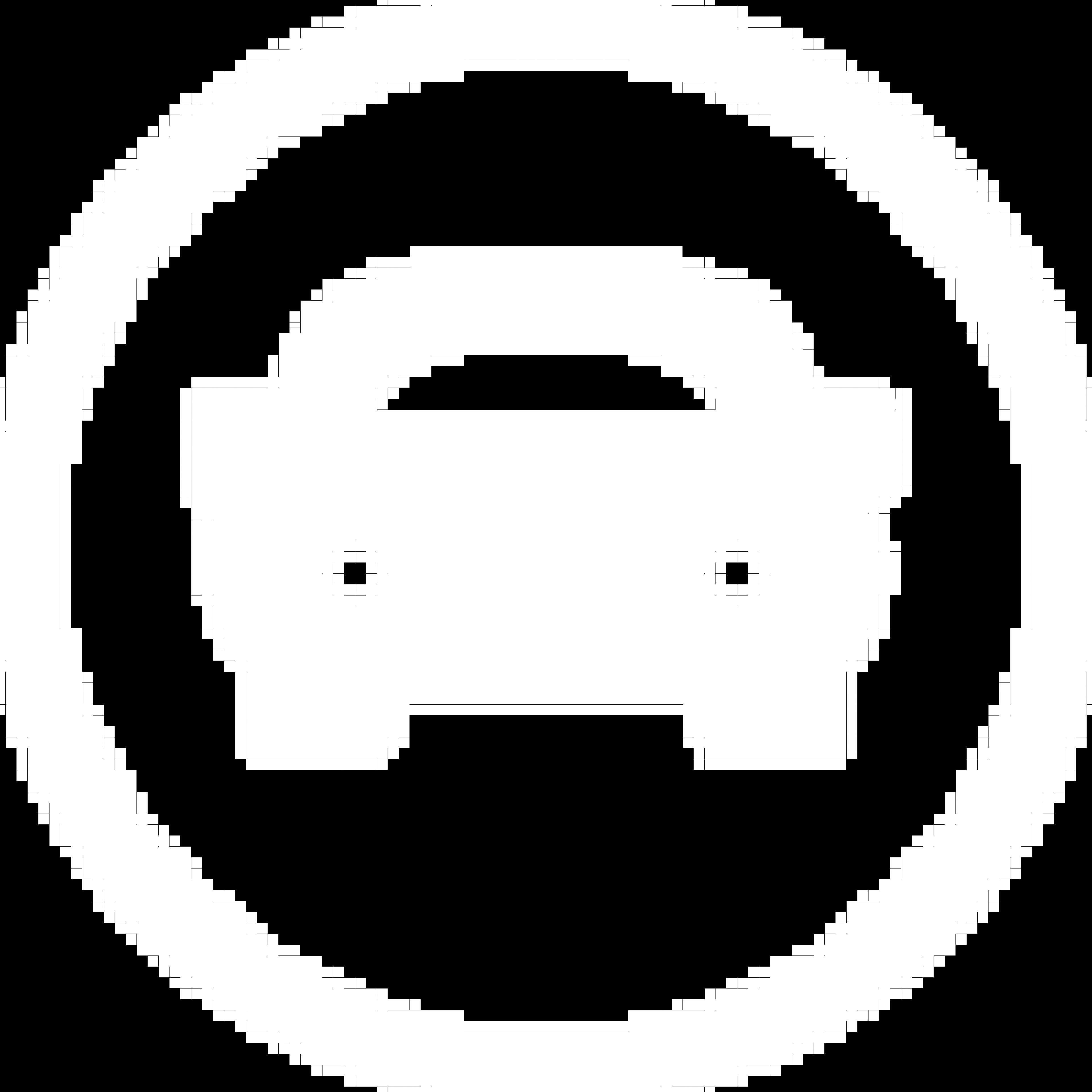 Icône d'une voiture blanche à l'intérieur d'un cercle blanc