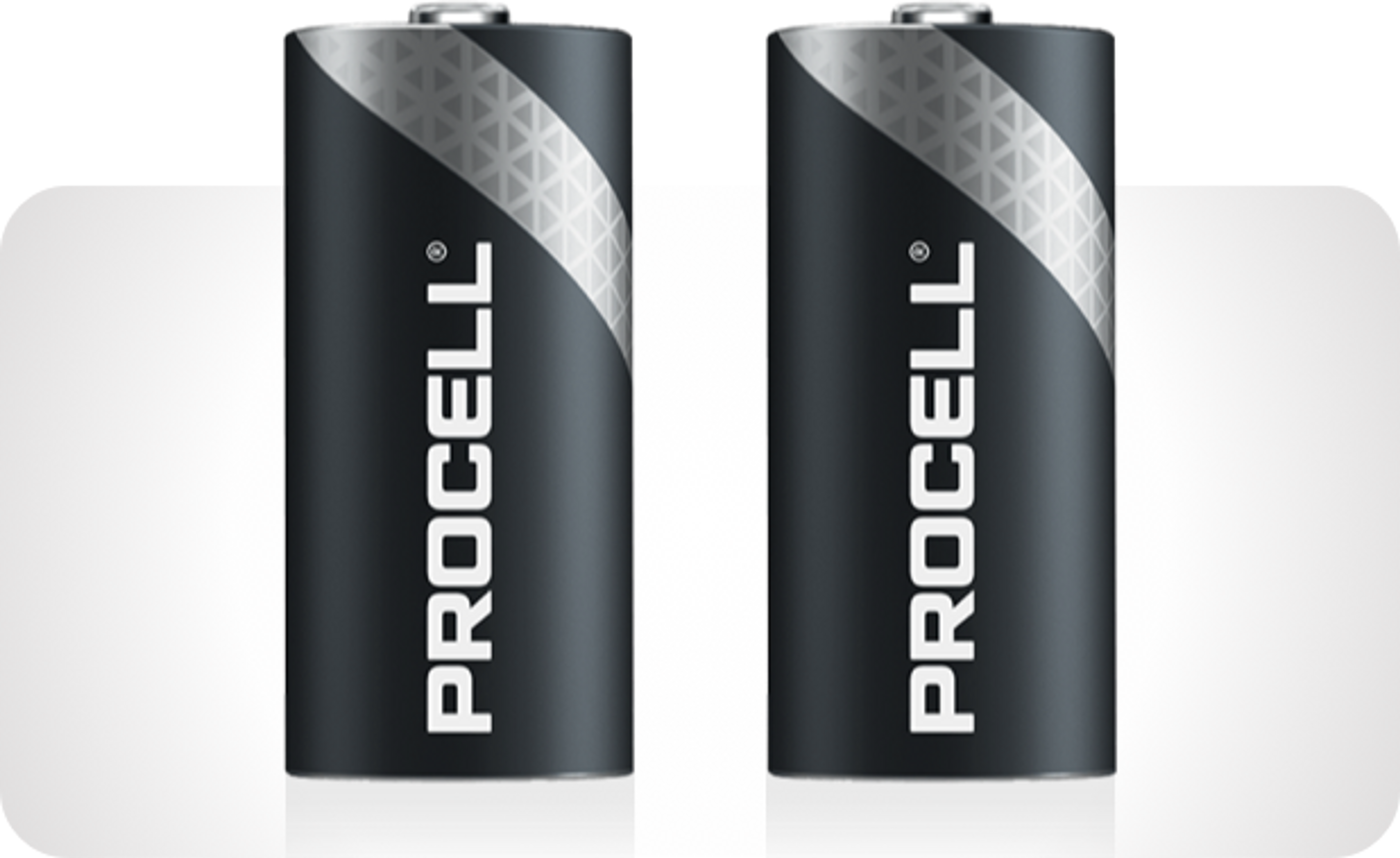 Image of two Procell Lithium batteries