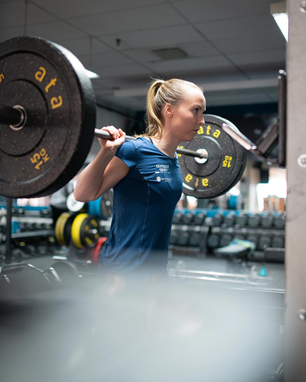Dame trener styrke