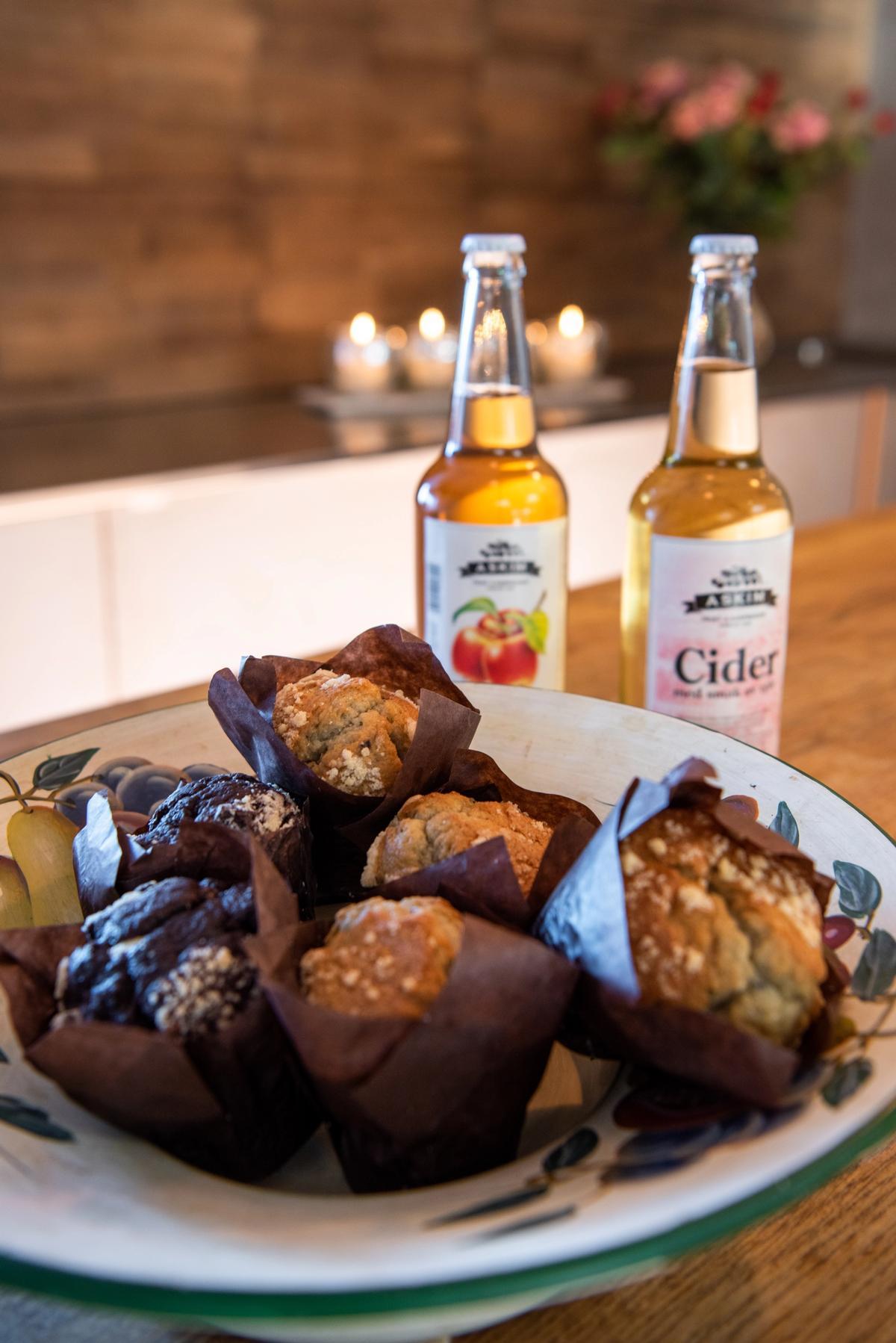 Muffins og eplecider