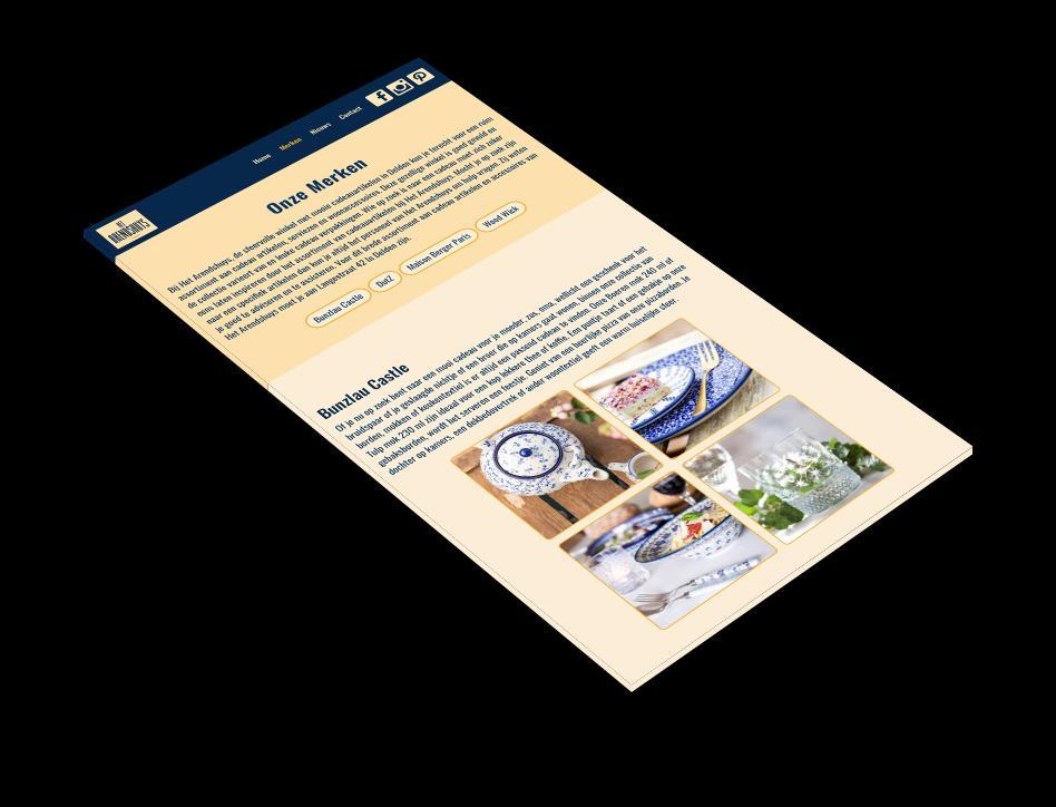 Het Arendshuys iPad screenshot.