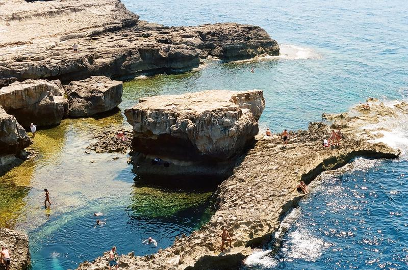 rockpools in malta