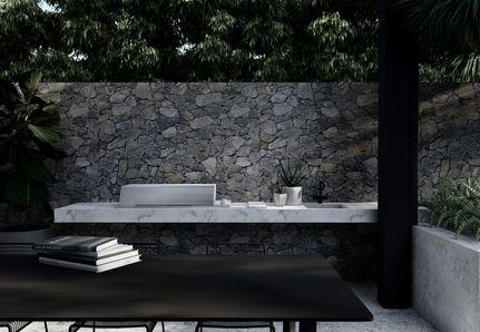 Landscape design BBQ built in Keilor