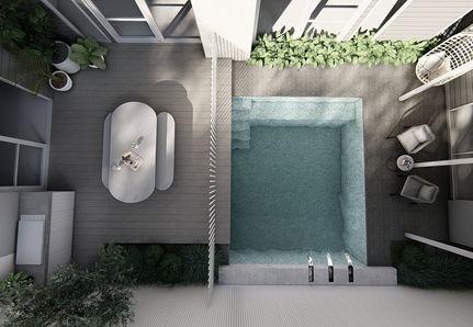 Landscape Design in Mornington Peninsula pool design and pergola