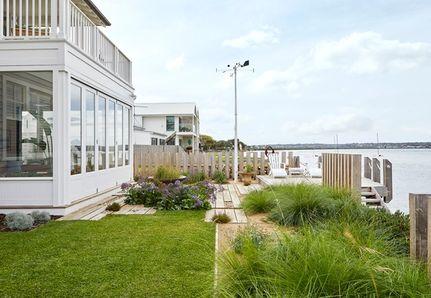 coastal garden with planting detail