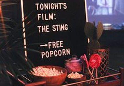 Summer movie night candy bar