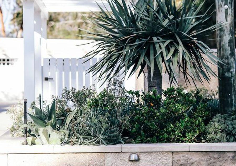 Garden entrance Hamptons