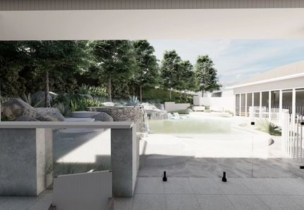 Water Feature and dark pool