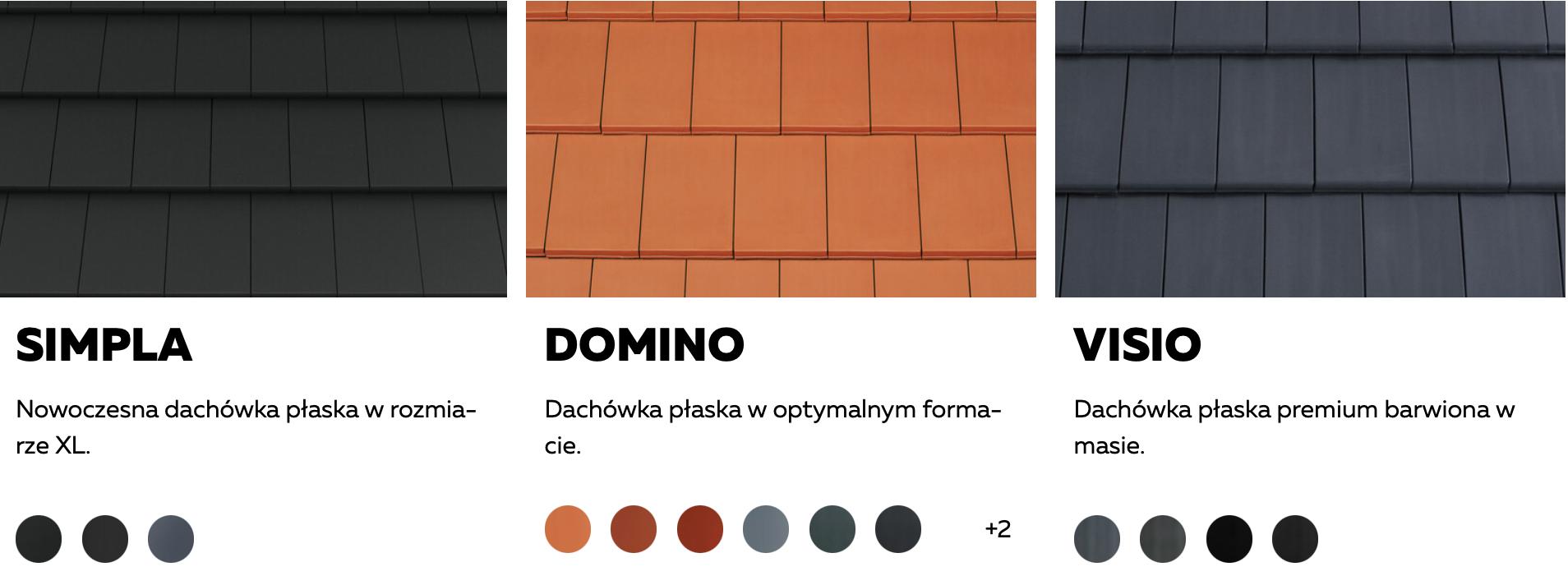 dachówki ceramiczne płaskie