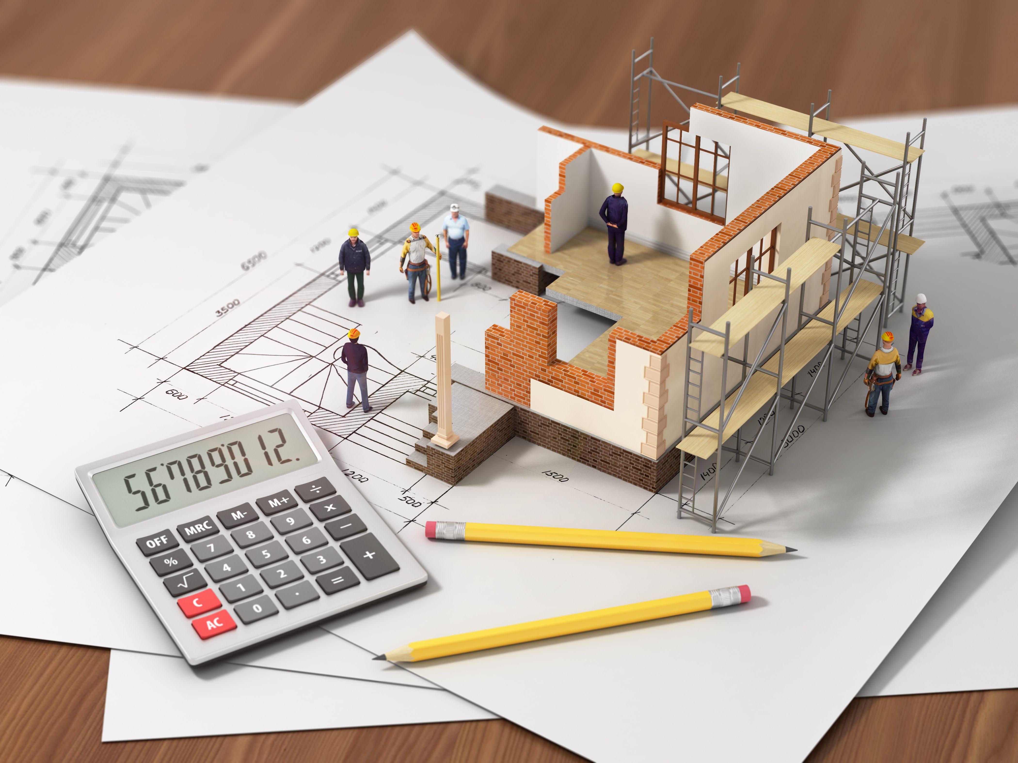 Talon rakentamisen budjetointi