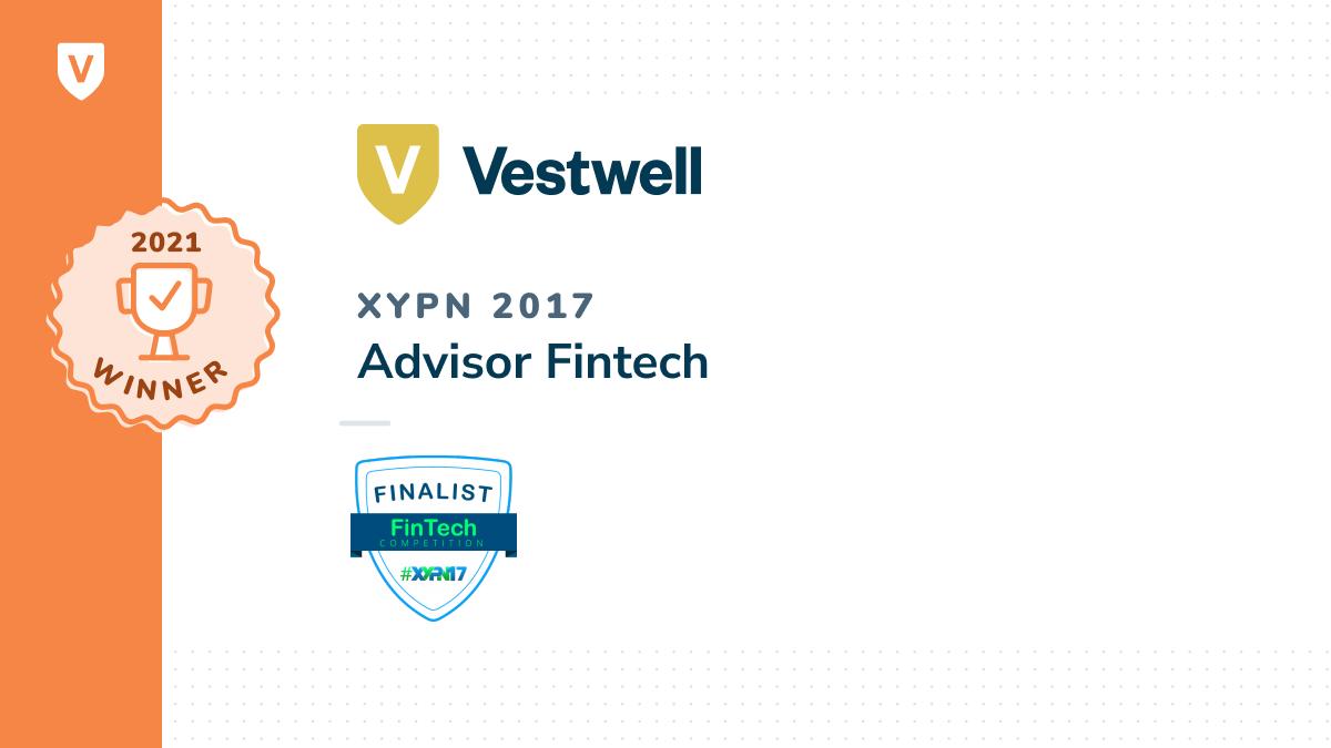 2017 advisor fintech winner