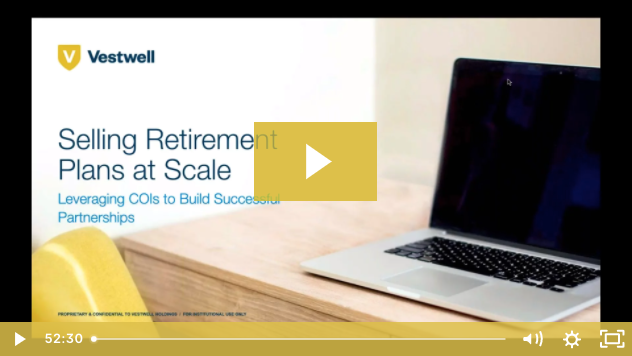 selling retirement plans at scale video cover screen