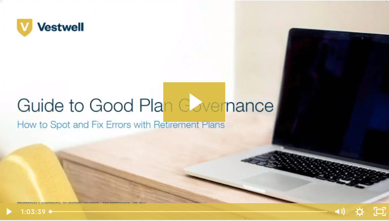 guide to good plan governance