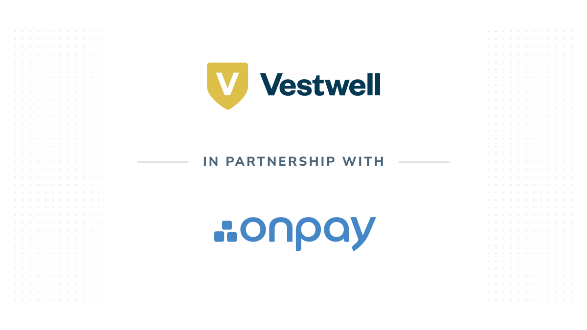 vestwell partnership with onpay