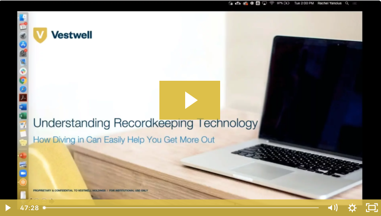 understanding recordkeeping technology
