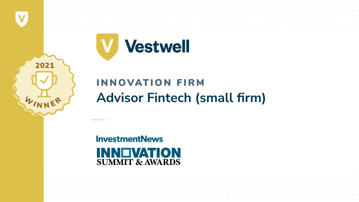 vestwell innovation firm advisor fintech
