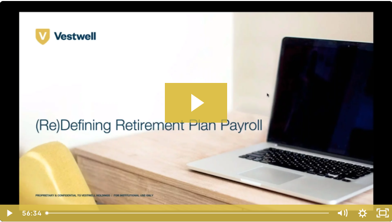 redefining retirement plan payroll