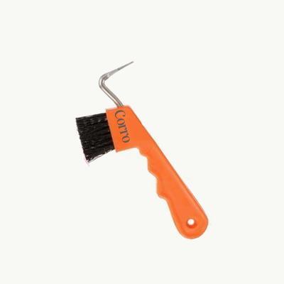 Corro Easy-Grip Hoof Pick / Brush Combination