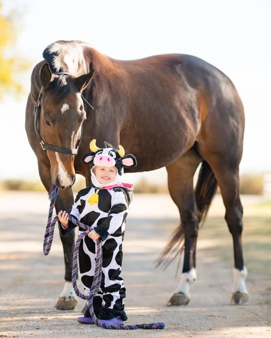 """""""Cow"""" Girl by Sadie J."""