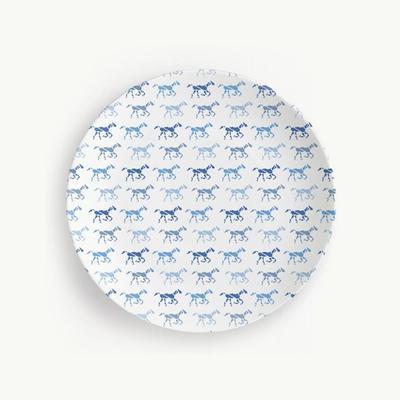 Honey & Hank Kentucky Horse Plates