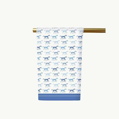 Honey & Hank Kentucky Derby Horses Tea Towel