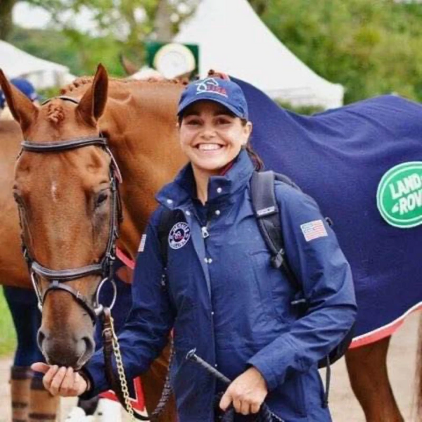 From Groom To Professional Three-Day Event Rider—How Meg Kep is Building Up the Next Generation of Eventers