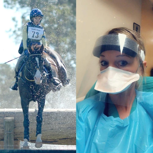 Frontline Hospital Workers Find Solace with Horses