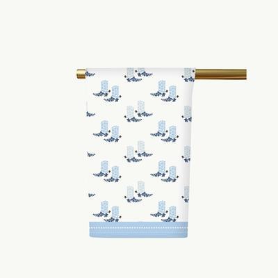 Honey & Hank Texas Boots Tea Towel