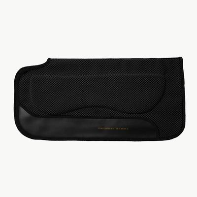 Tough-1 Breathable Neoprene Shock Absorber PVC Saddle Pad with Padded Bars