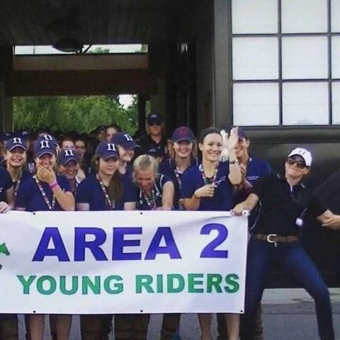 Sinead and Meg joined the US Eventing Association Area II Young Rider Team as the new coach and team coordinator respectively back in 2011/2012. Photo courtesy of Meg Kep.