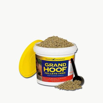 Grand Meadows Grand Hoof Pellets + MSM Hoof Support Formula