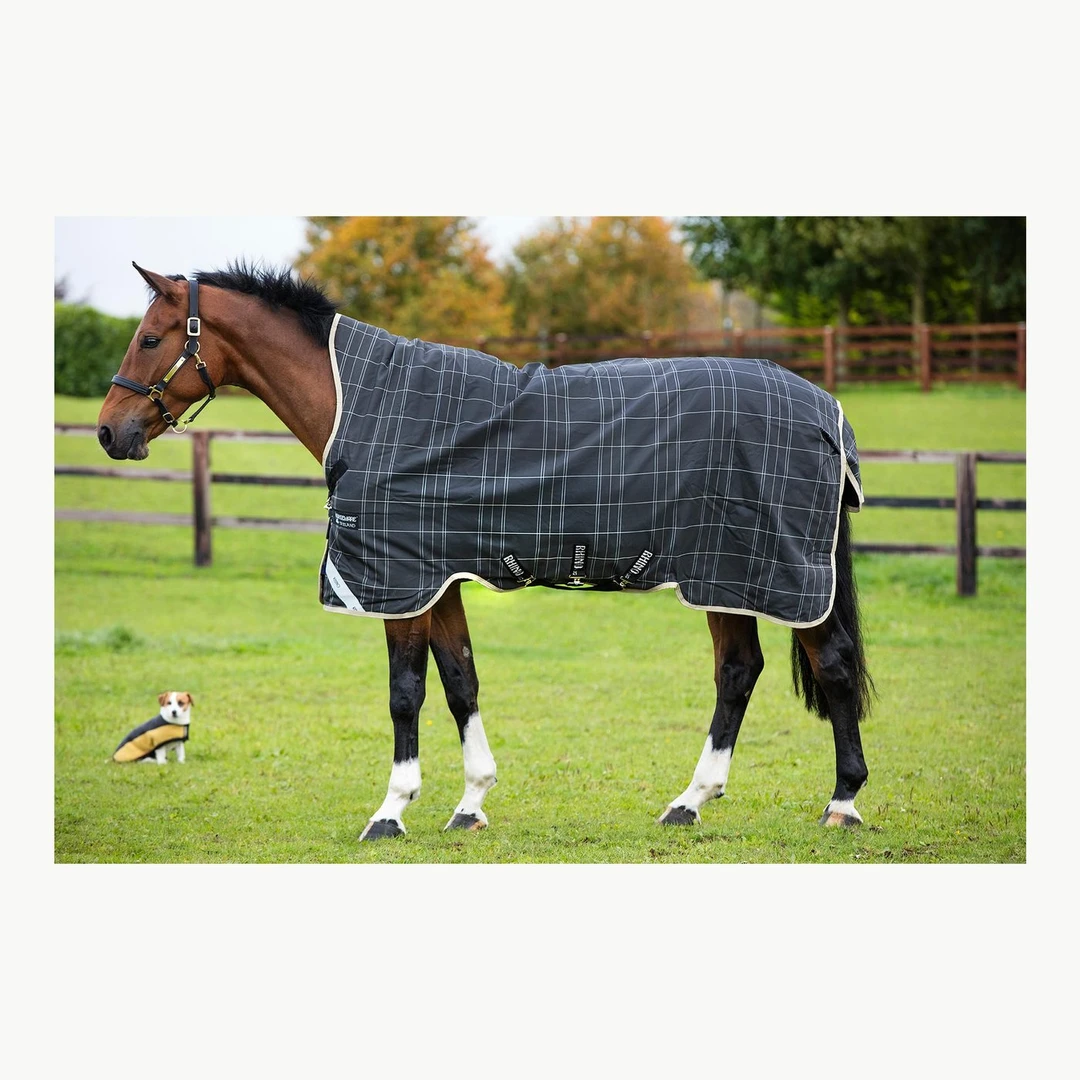 This blanket is a good example of a high neck blanket.