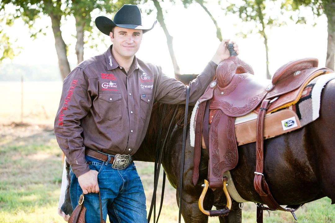 Grant Setnicka. Photo courtesy of GS Cutting Horses.