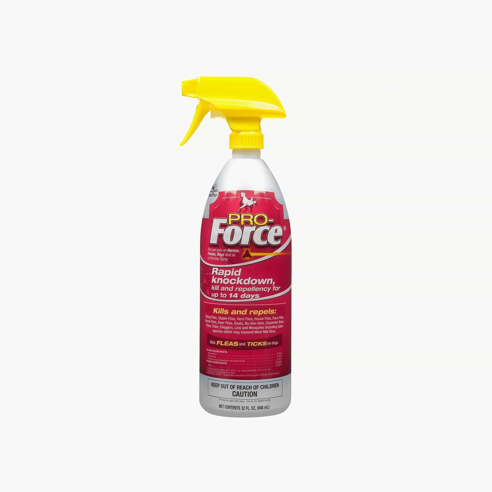 MannaPro Pro-Force Fly Spray with Rapid Knockdown