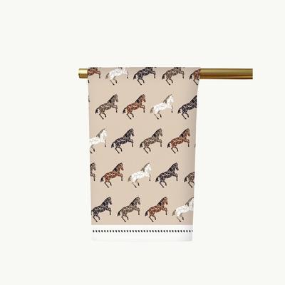 Honey & Hank Nevada Mustangs Tea Towel