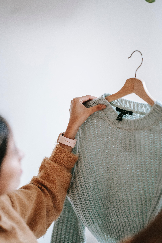 Choosing a sweater