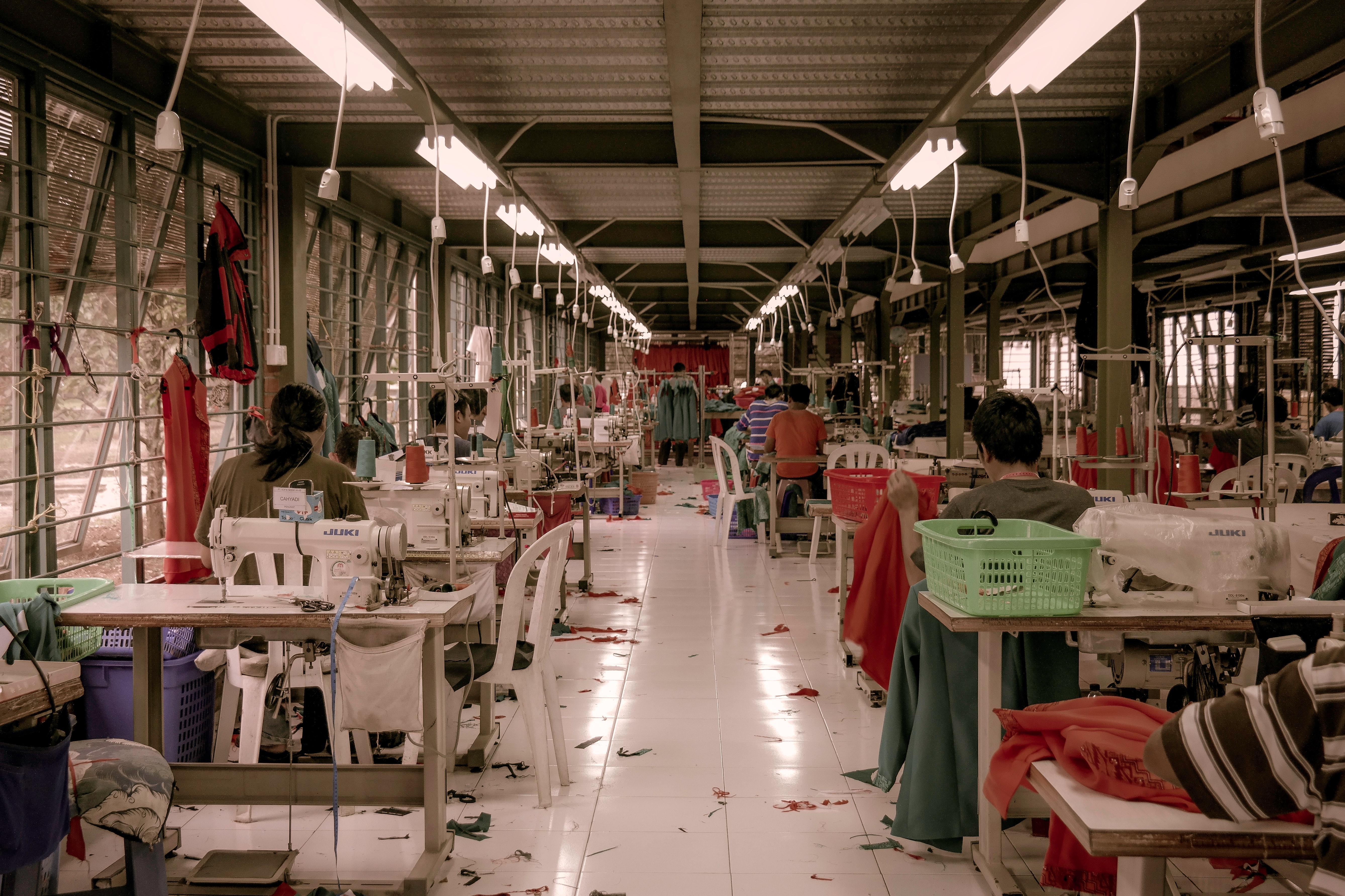 Seamstresses at work