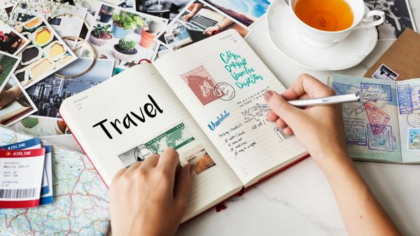 A travel journal for keeping memories, reminders, and experiences