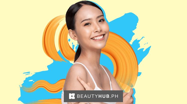 Beautiful Asian woman with glowing skin