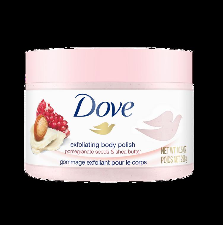 Dove Pomegranate Seeds & Shea Butter Moderate Exfoliating Body Polish