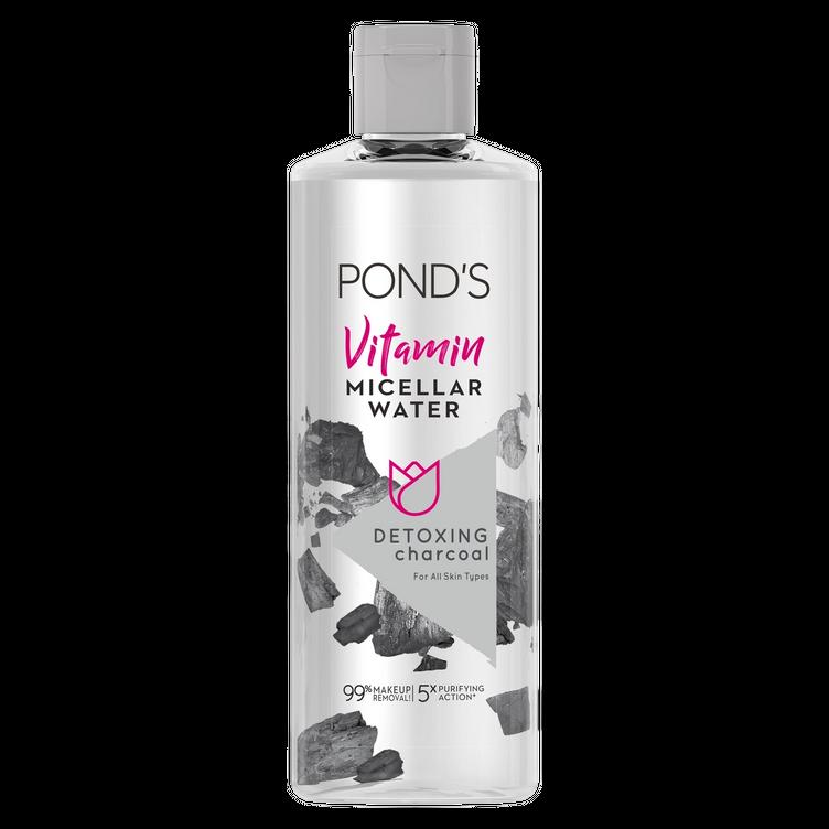 Pond's Vitamin Micellar Water Detoxifying Charcoal