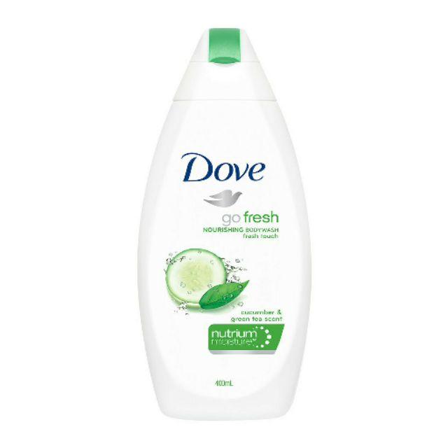 Dove Body Wash Go Fresh Cool Moisture