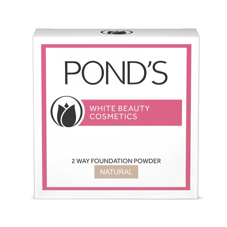 POND'S White Beauty 2 Way Foundation Natural