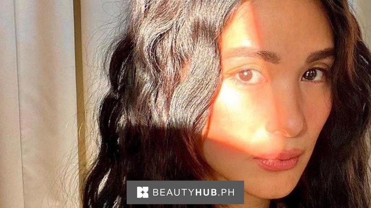 Heart Evangelista with curly hair