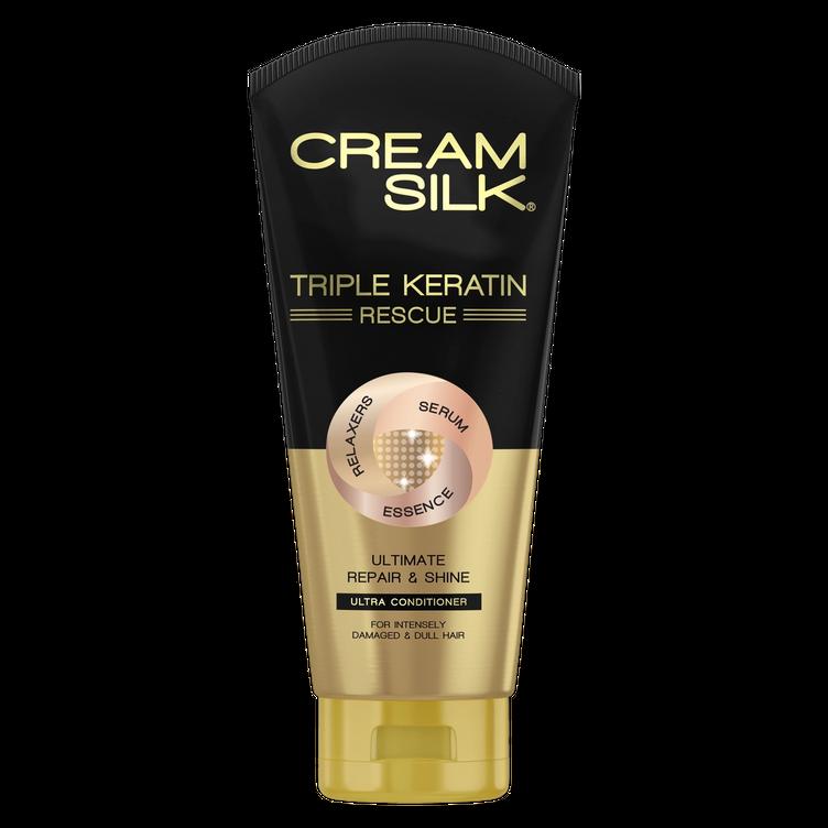 Cream Silk Triple Keratin Rescue Ultimate Repair & Shine Ultra Conditioner
