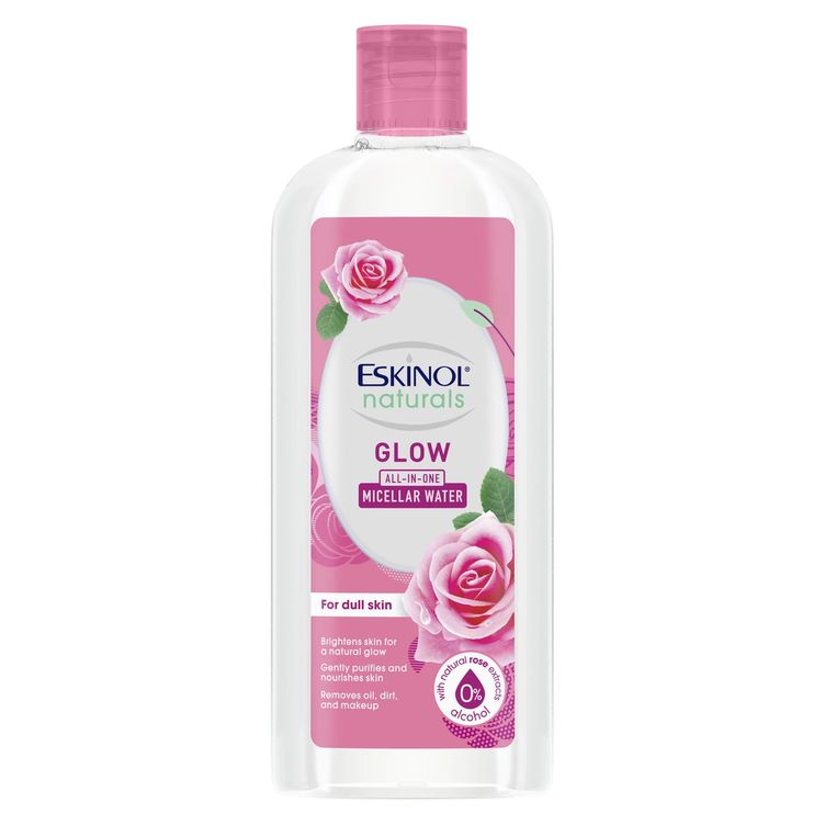 Eskinol Naturals Micellar Water Glow with Natural Rose Extracts